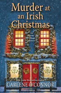 Book Cover for Murder at an Irish Christmas