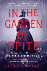book cover for In the Garden of Spite