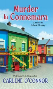 Book cover for cozy mystery Murder in Connemara.