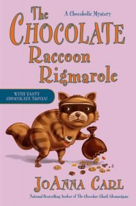 Book cover for The Chocolate Raccoon Rigmarole
