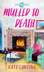 Book Cover for cozy mystery Mulled to Death